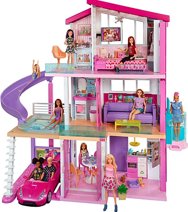 En Güzel Barbie Bebek Evi Seti